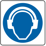 segnaletica Protezione udito dpi